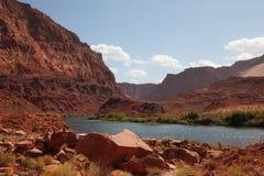 поток реки colorado Стоковое фото RF