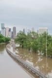 Поток Хьюстона городской Стоковое Изображение