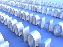 поток 2 binary Стоковые Фотографии RF