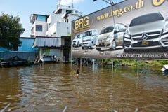поток 2011 bangkok самый плохой Стоковые Фотографии RF