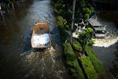 поток 2011 bangkok самый плохой Стоковые Изображения RF