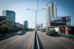 поток 2011 bangkok самый плохой Стоковое Изображение