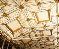 потолок деревянный Стоковые Фотографии RF