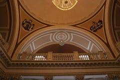 Потолок здания Стоковое Фото
