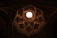 Потолок мечети Isfahan старый Стоковые Изображения RF