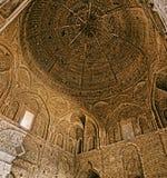 Потолок мечети Isfahan старый Стоковые Фото