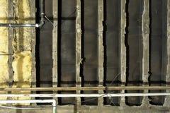 потолок формирует механически надземное структурное Стоковые Изображения
