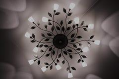 Потолочная лампа Потолочная лампа света СИД Крытая молния оформления дома Стоковое Изображение RF
