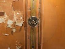 Потолочный вентилятор на старом потолке Стоковое Фото