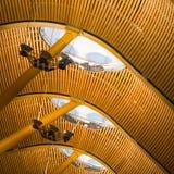 Потолок авиапорта Madird Стоковое Изображение
