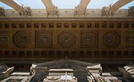 Потолок базилики le Мураы fuori San Paolo Стоковое Изображение RF