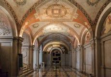 Потолок Вашингтон библиотеки конгресса Стоковое Фото
