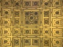 Потолок внутри собора Севильи Стоковые Фотографии RF