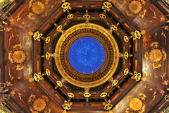 Потолок дворца Ватикана в WuXi Стоковые Фото