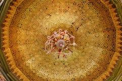 Потолок в арабском стиле Стоковая Фотография
