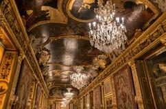 Потолок в королевском дворце, Стокгольм, Швеция Стоковое Изображение