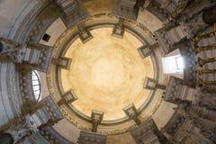 Потолок в мавзолее ` s Diocletian Стоковые Фотографии RF