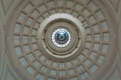 Потолок геометрии абстрактный Стоковое Изображение