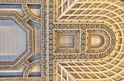 потолок грандиозный стоковая фотография