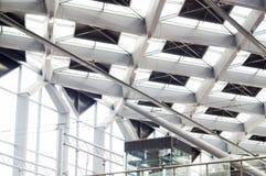 Потолок, железнодорожный вокзал, Гаага, Нидерланды Стоковое Фото