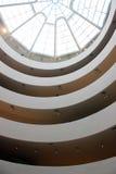 Потолок интерьера музея Guggenheim Стоковые Фотографии RF