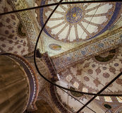 Потолок мечети Стоковые Фото