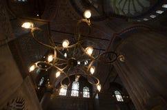 Потолок мечети Стоковое Изображение