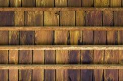 Потолок древесины Teak Стоковые Фотографии RF