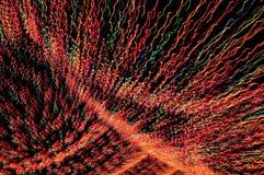 Потолок светов рождества надземный Стоковая Фотография