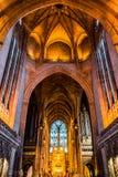 Потолок собора Ливерпуля Стоковые Изображения