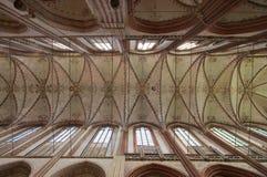 Потолок собора Стоковая Фотография