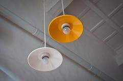 Потолок Тоскана лампы Стоковая Фотография
