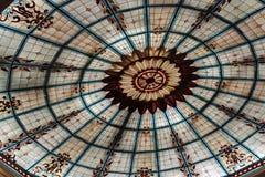 Потолок цветного стекла Стоковые Фотографии RF