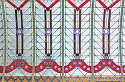 Потолок цветного стекла Стоковая Фотография RF