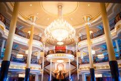Потолок Cruiseship - ресторан стоковое фото rf