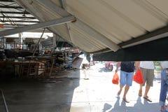 Потолок xiang'an сброса давления продовольственного рынка района Стоковая Фотография RF