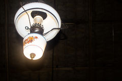 Потолочная лампа Стоковое фото RF