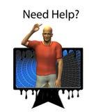 потребность помощи Стоковое фото RF