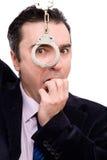потревоженный бизнесмен стоковая фотография rf