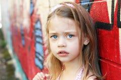 потревоженный ребенок Стоковые Фото