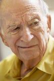 потревоженный старший портрета человека Стоковые Фотографии RF