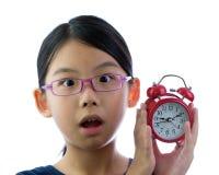 потревожьте часы ребенка стоковое фото