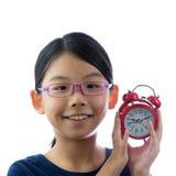 потревожьте часы ребенка стоковые фото