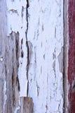 потрескиванная белизна краски Стоковая Фотография RF