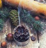 Потушенная свеча рождества Стоковая Фотография