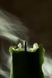 потушенная свечка Стоковые Фото