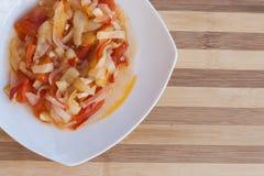 потушенные овощи Стоковые Изображения RF