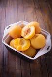 Потушенные персики Стоковые Изображения RF