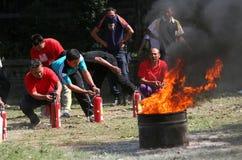 Потушите огонь стоковое фото rf