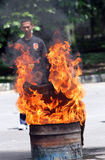 Потушите огонь стоковое изображение